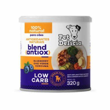Alimentação natural para cães low carb