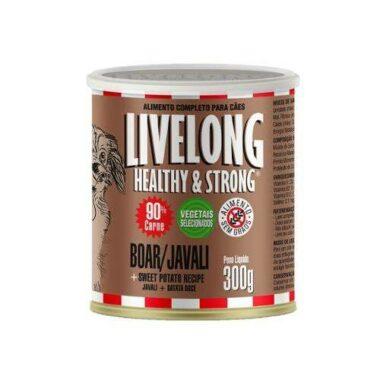 Alimentação natural livelong cães javali